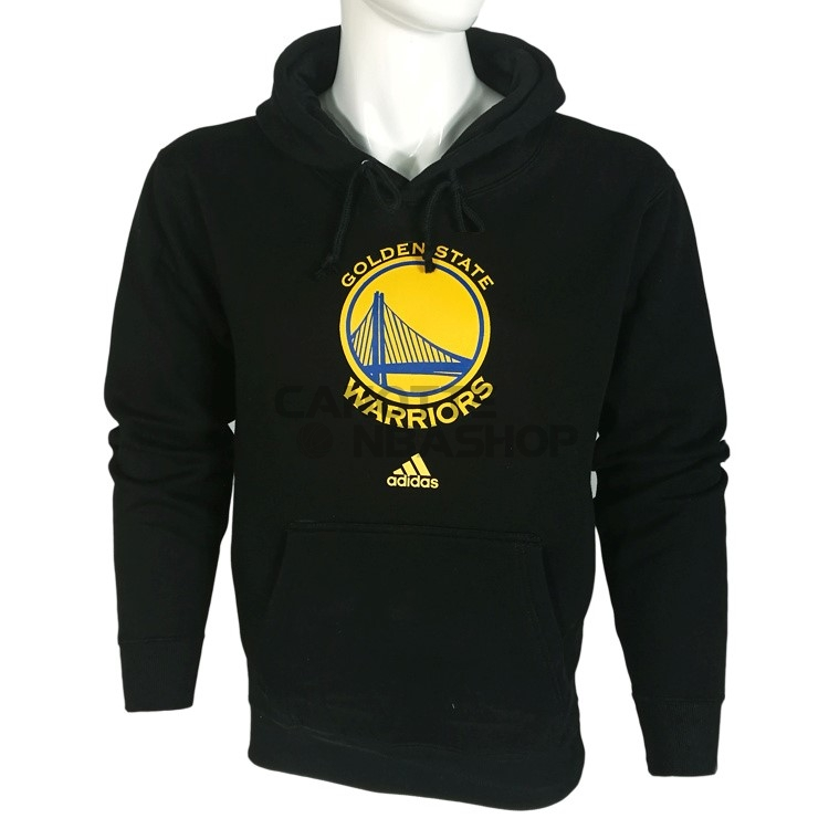 Vendite Felpe Con Cappuccio NBA Golden State Warriors Nero City