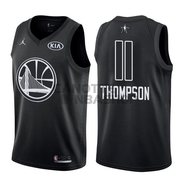Vendite Maglia NBA 2018 All Star NO.11 klay Thompson Nero