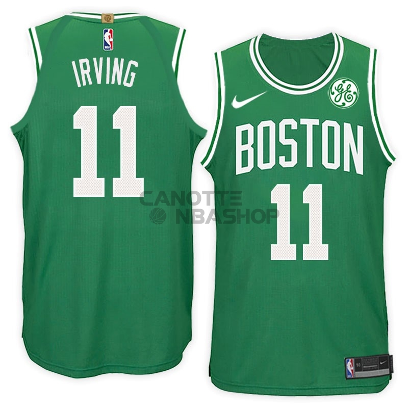 Vendite Maglia NBA Nike Boston Celtics NO.11 Kyrie Irving Verde