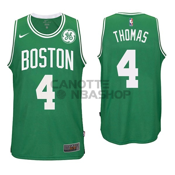 Vendite Maglia NBA Nike Boston Celtics NO.4 Isaiah Thomas Verde