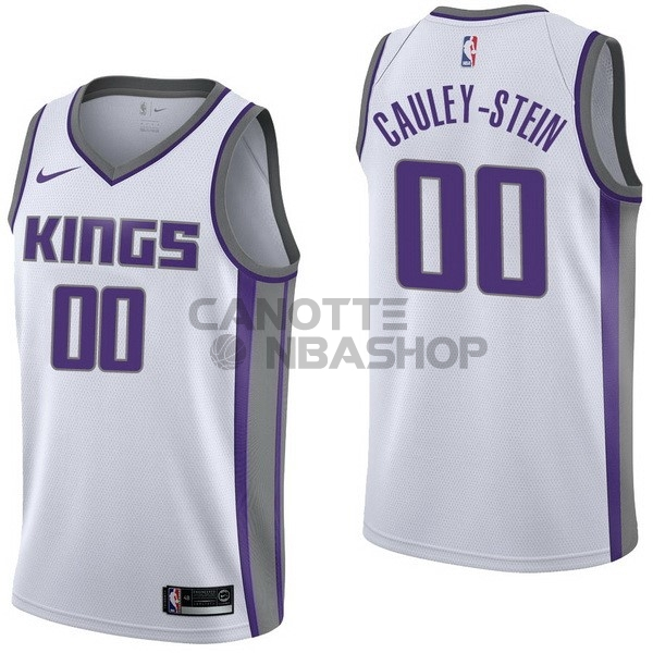 Vendite Maglia NBA Nike Sacramento Kings NO.0 Willie Cauley Stein Bianco Association