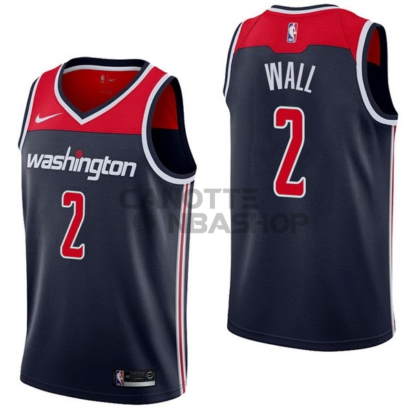 Vendite Maglia NBA Nike Washington Wizards NO.2 John Wall Marino Statement