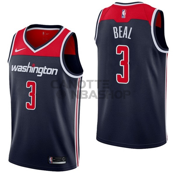 Vendite Maglia NBA Nike Washington Wizards NO.3 Bradley Beal Marino Statement