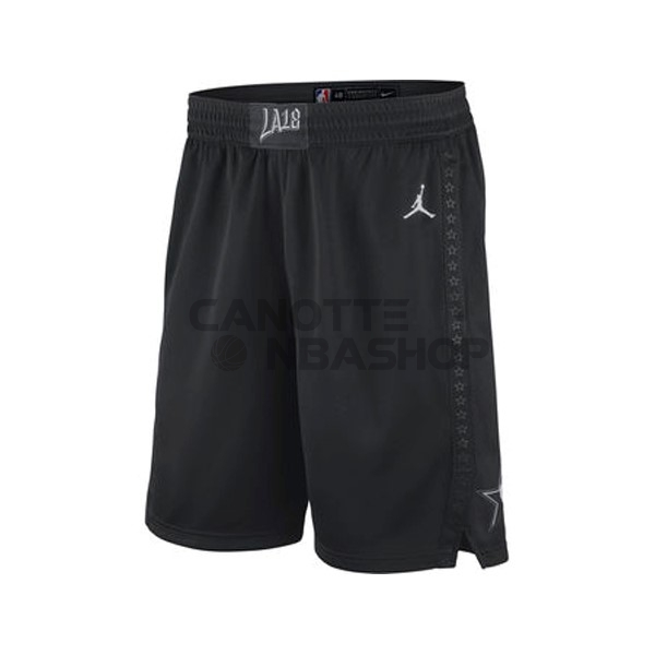Vendite Pantaloni Basket 2018 All Star Nero