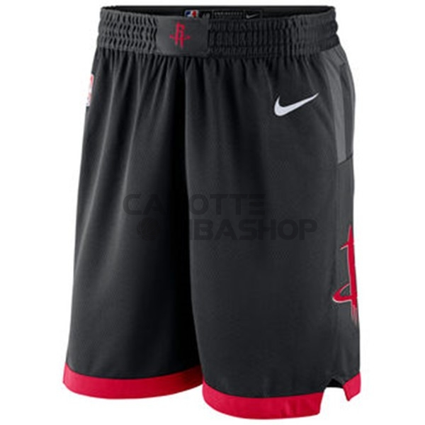 Vendite Pantaloni Basket Houston Rockets Nike Nero