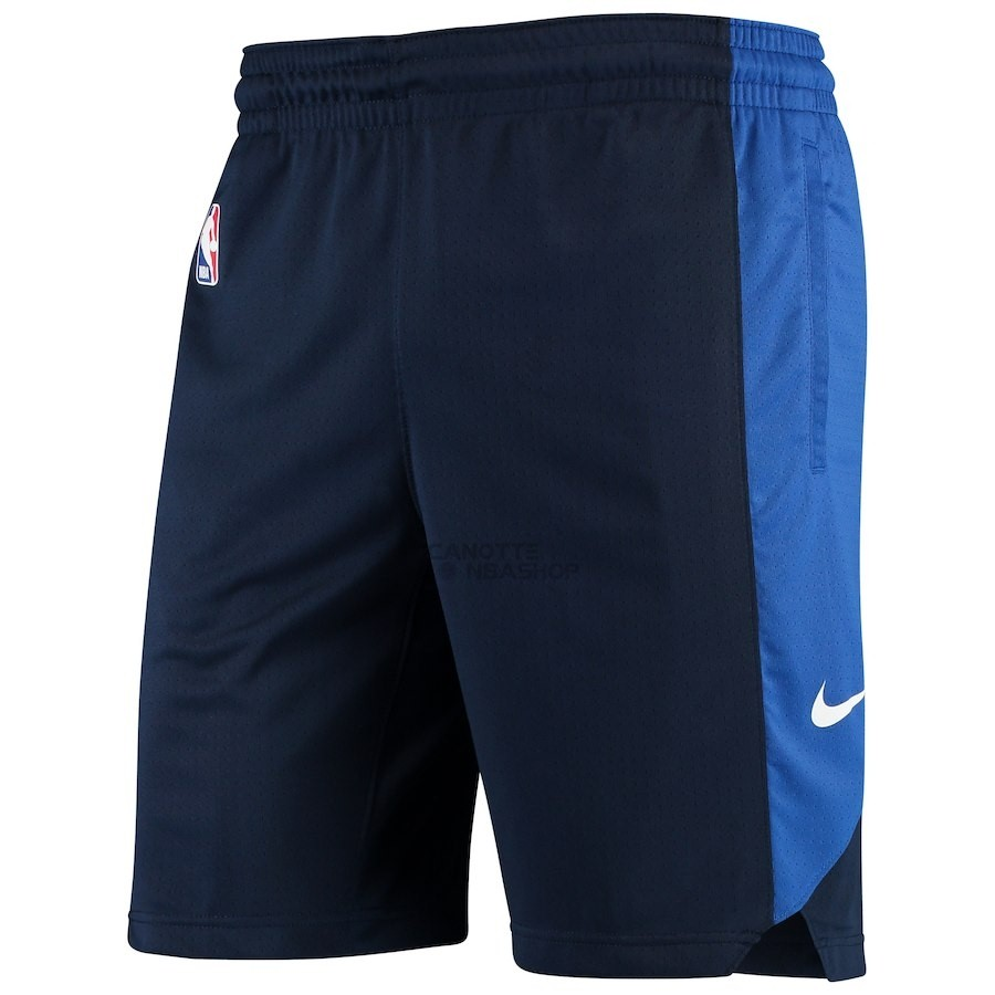 Vendite Pantaloni Basket Dallas Mavericks Nike Marino 2018