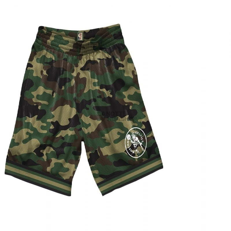 Vendite Pantaloni Basket Boston Celtics Camo
