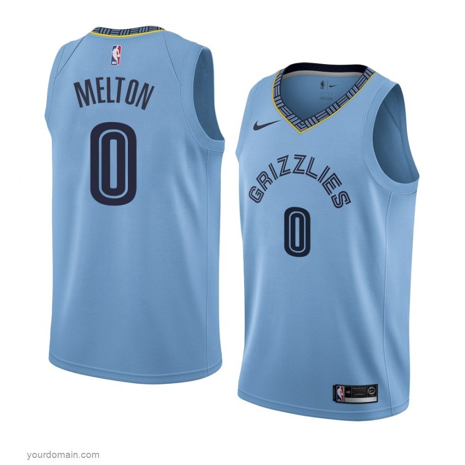 Vendite Maglia NBA Nike Menphis Grizzlies NO.0 De'Anthony Melton Blu Statement 2019-20