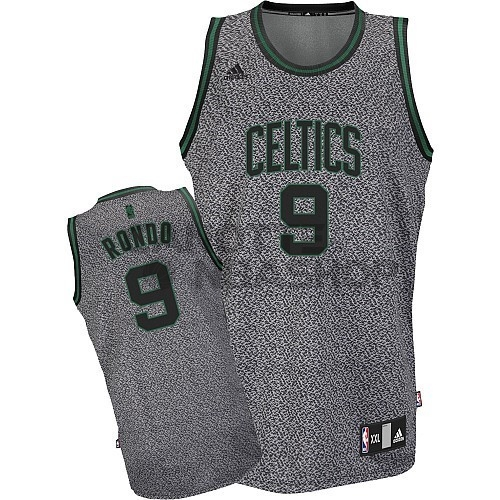 Vendite Maglia NBA 2013 Fashion Statico Boston Celtics NO.9 Rondo