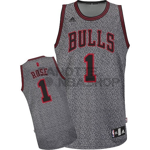 Vendite Maglia NBA 2013 Fashion Statico Chicago Bulls NO.1 Rose