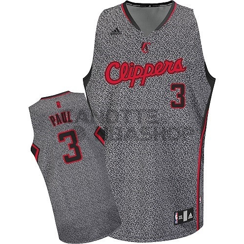 Vendite Maglia NBA 2013 Fashion Statico Los Angeles Clippers NO.3 Chris Paul