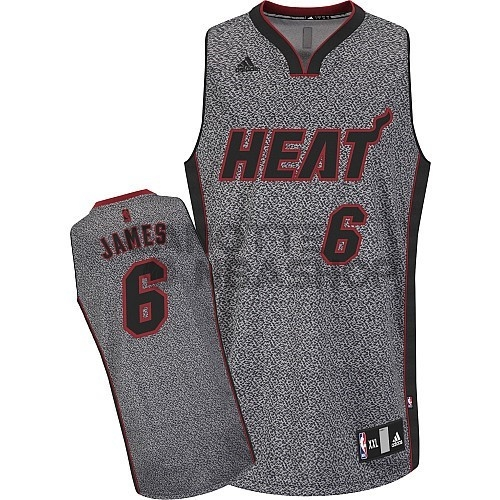 Vendite Maglia NBA 2013 Fashion Statico Miami Heat NO.6 James