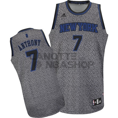 Vendite Maglia NBA 2013 Fashion Statico New York Knicks NO.7 Anthony