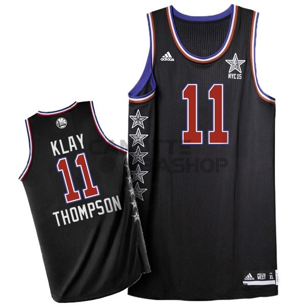 Vendite Maglia NBA 2015 All Star NO.11 Klay Thompson Nero