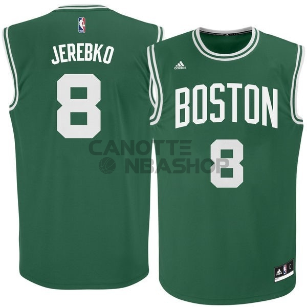 Vendite Maglia NBA Boston Celtics No.8 Jeff Green Verde