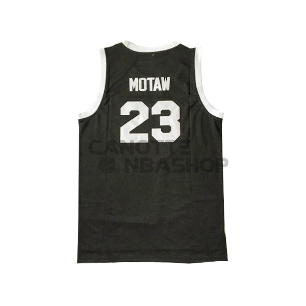 Vendite Maglia NBA Film Basket Shoot Out NO.23 Motaw Nero