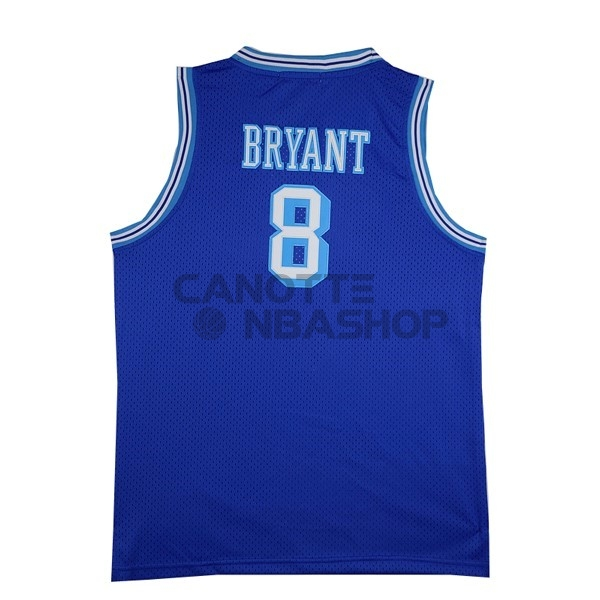 Vendite Maglia NBA Los Angeles Lakers NO.8 Kobe Bryant Blu