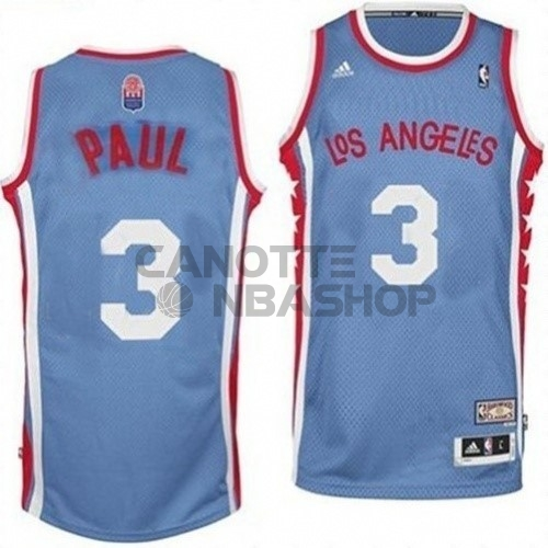 Vendite Maillo ABA Los Angeles Clippers NO.3 Paul Grigio
