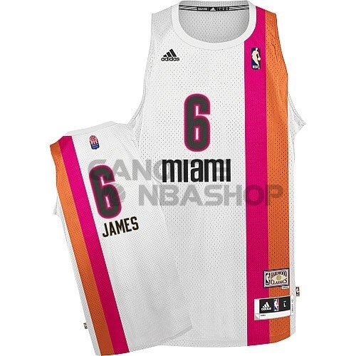 Vendite Maillo ABA Miami Heats NO.6 James Bianco
