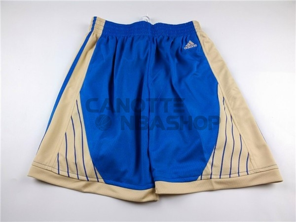 Vendite Pantaloni Basket 2015 Natale Golden State Warriors Blu