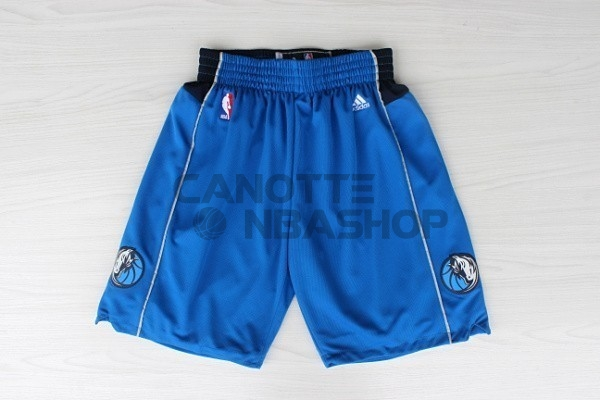 Vendite Pantaloni Basket Dallas Mavericks Blu