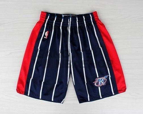 Vendite Pantaloni Basket Houston Rockets Blu